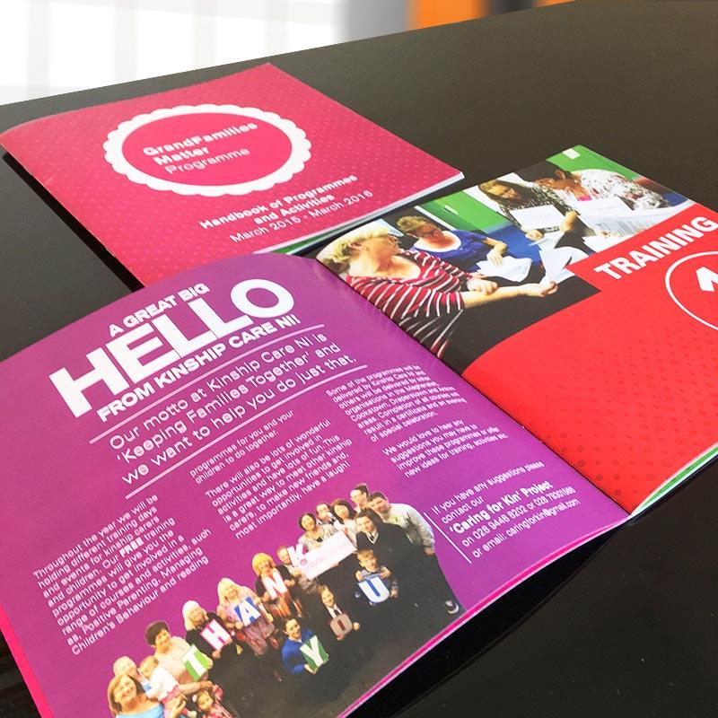 kinship care booklet design