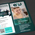 ev-u brochure design