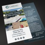 carraig flyer design
