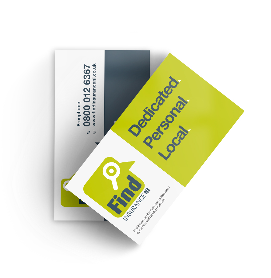 Business cards design and print derry londonderry northern ireland order business cards reheart Images