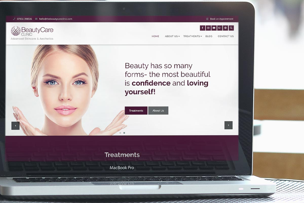 Beauty Care Clinic | Alley Kat Design